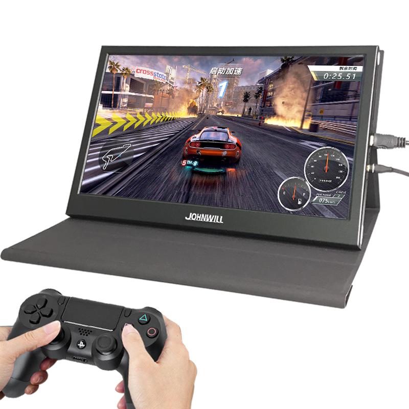 15.6寸2K窄边HDR便携式显示器hdmi PS4 SWITCH 游戏电脑扩展 分屏电竞显示器智能电视嵌入式显示器