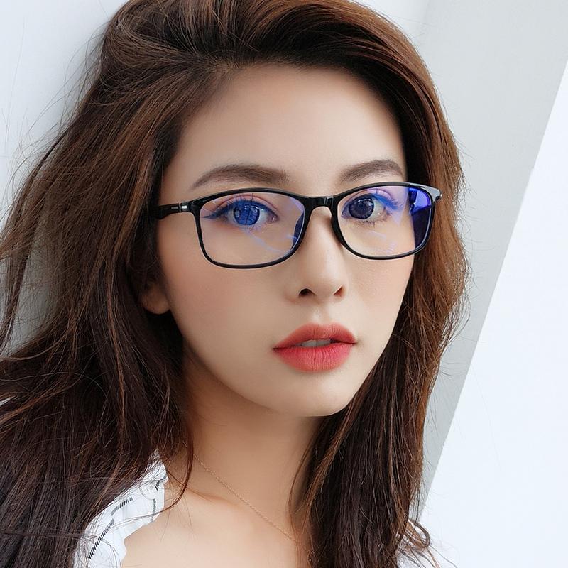 防蓝光眼镜防辐射电脑护目镜女平光镜男韩版近视眼睛框架手机眼镜