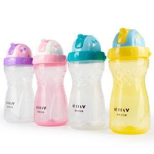 纽西贝儿健儿童水壶吸管杯夏季直饮背带运动水壶小孩便携防摔水杯