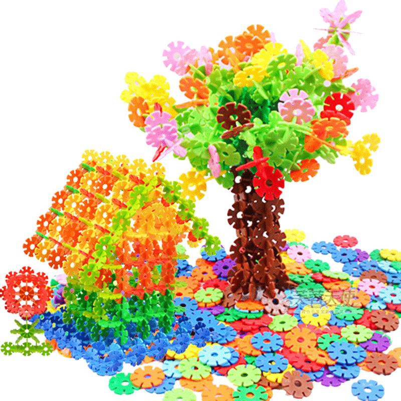儿童玩具积木1益智雪花片2拼装3宝宝早教4男女5男孩男童6岁10周岁