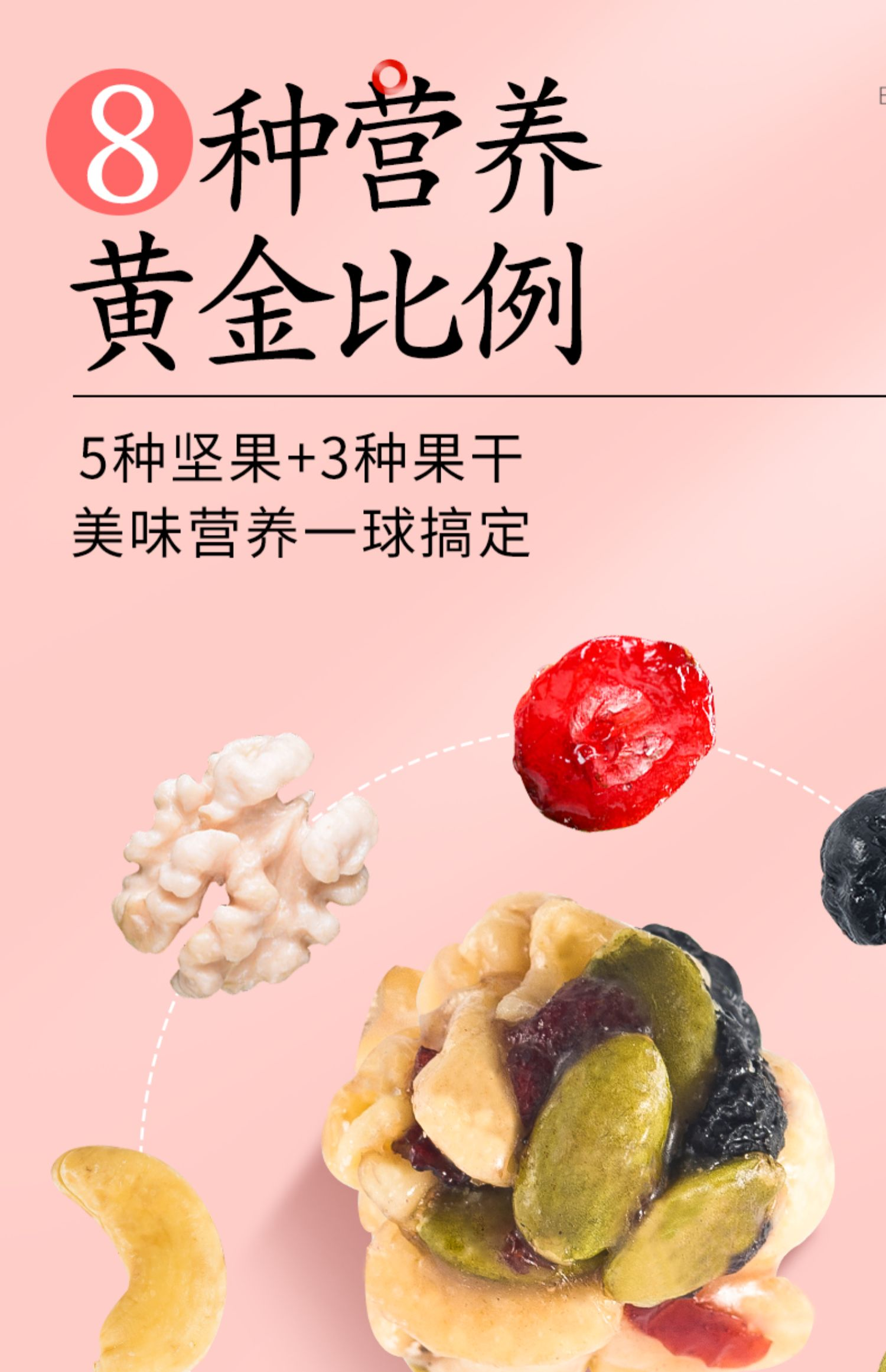 每日坚果零食坚果果干礼盒包