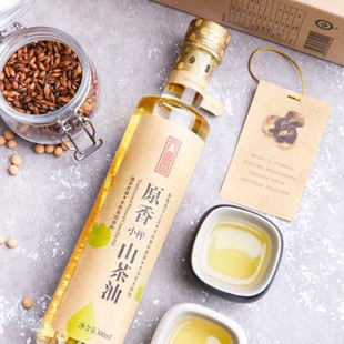 六道香野生茶油农家自榨茶籽油300ml