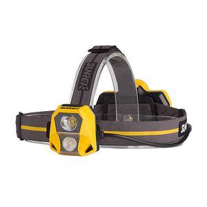 【探洞】山力士征途3 户外头灯探险攀岩强光充电矿灯头戴式矿工灯