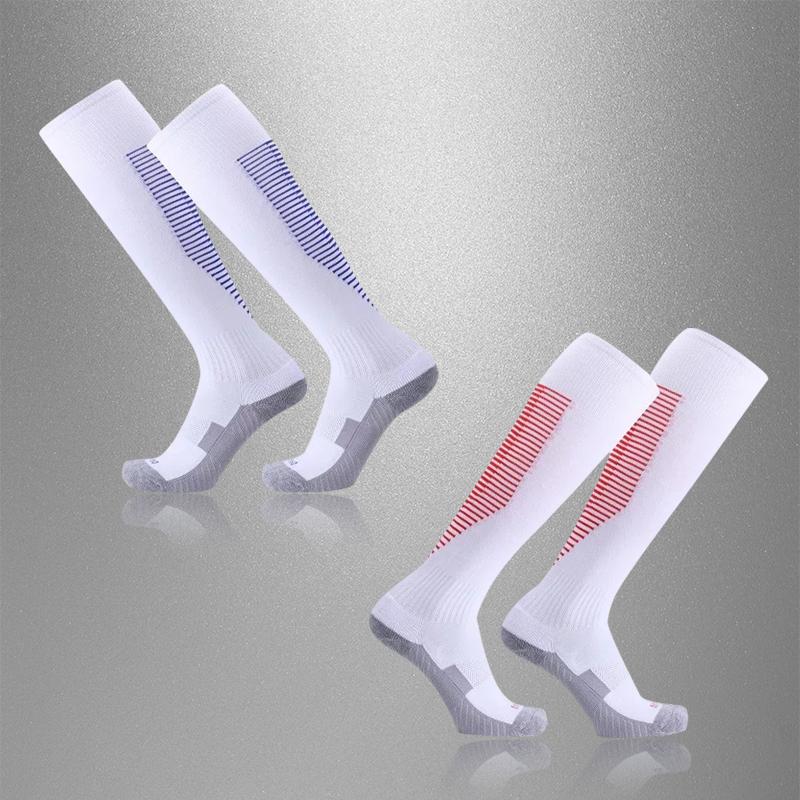 新款足球运动长袜足球长筒袜过膝足球训练袜成人儿童学生透气瑜诺