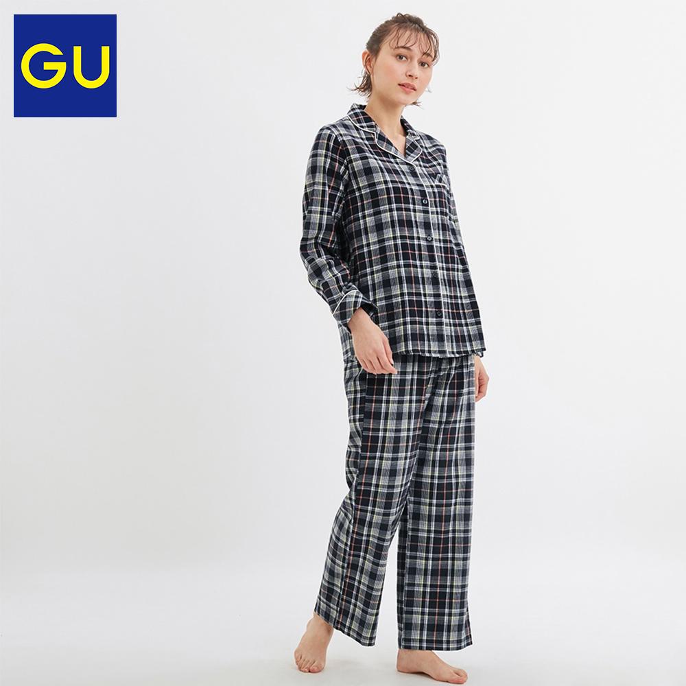 GU 极优 321581 女装睡衣套装(格纹)99元