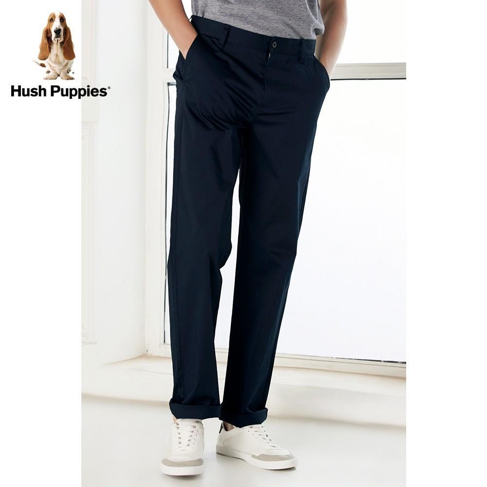 Hush Puppies暇步士男装2018夏休闲男士长裤|PQ-28302Z