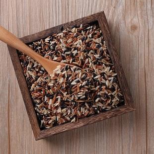 买1送1 十月稻田轻食三色糙米五谷杂粮红黑米粗粮健身脂减饭480g