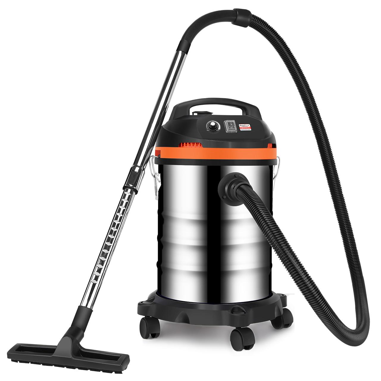 杰诺吸尘器1600W强力大功率家用酒店宾馆商用工业吸尘器30L干湿吹