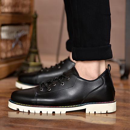 [包邮]秋冬季男士新款韩版时尚休闲皮鞋