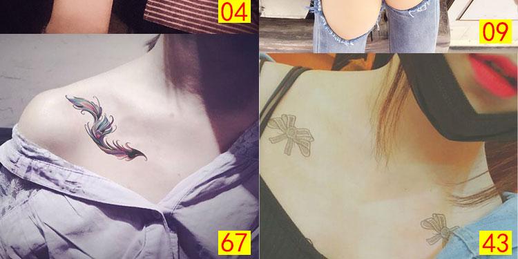 纹身贴持久防水男女 韩国仿真性感英文花臂套装刺青图片