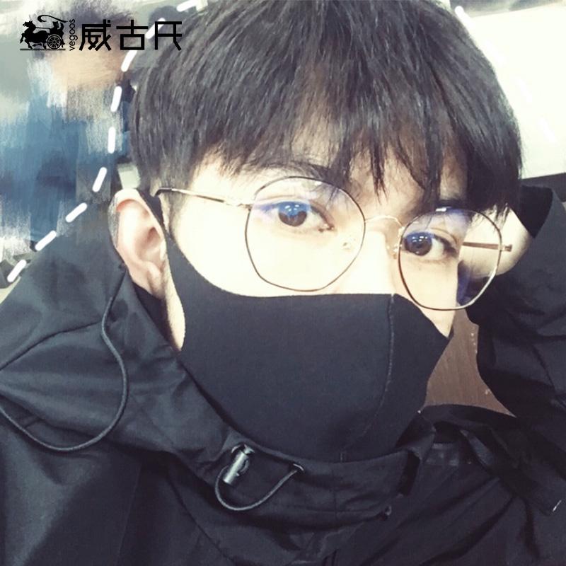 威古氏防辐射眼镜女护目个性韩版潮蓝光电脑眼镜近视男有度数5131