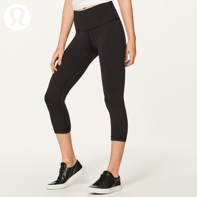 lululemon丨Wunder Under女高腰瑜伽中长裤*Full-On Luon LW6AG0S