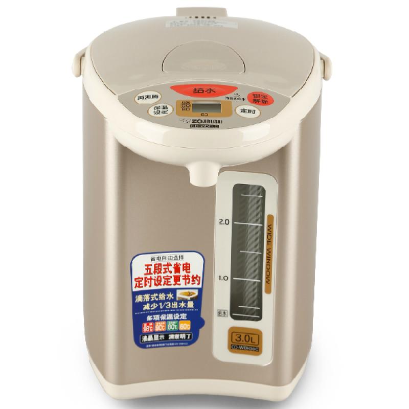 Электрический чайник Zojirushi/печать CD-wbh30c-КТ / 40c изолированные электрические Японии для внутреннего использования электрические чайники