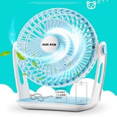 奥克斯 迷你usb电风扇床头台式办公室静音电扇学生宿舍家用小风扇