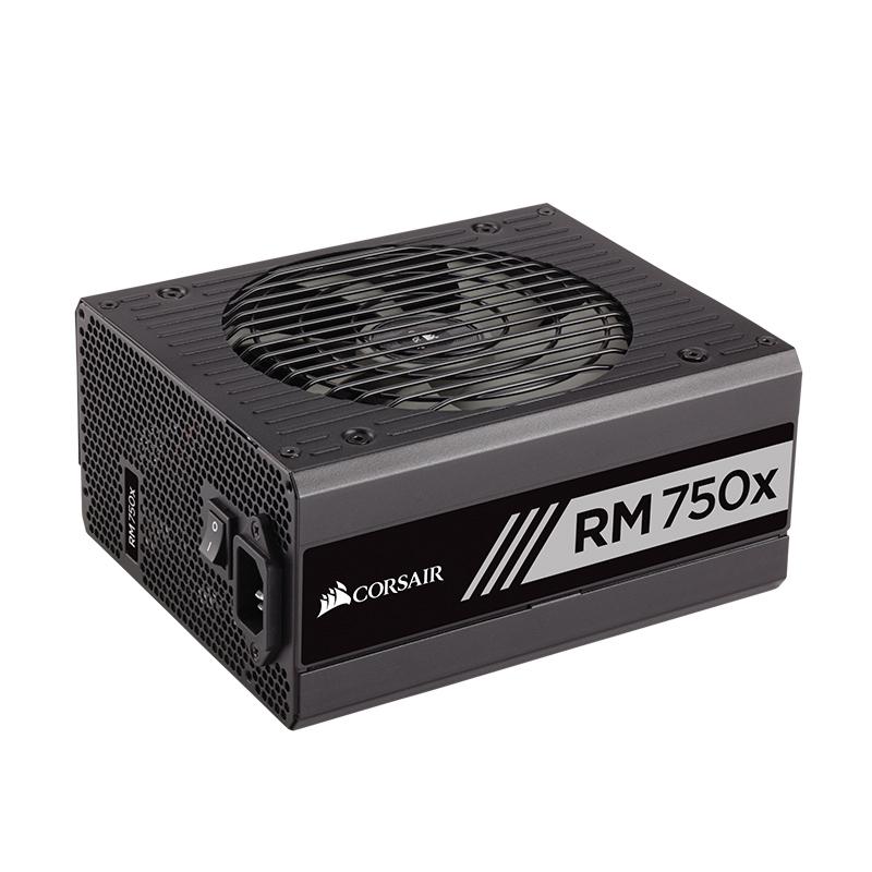 美商海盗船RM750x额定功率750W电源主机电脑台式静音高效全模组