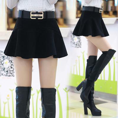 2016新款短裙半身裙子小摆裙女士土秋天女式群下身秋冬款冬天冬季