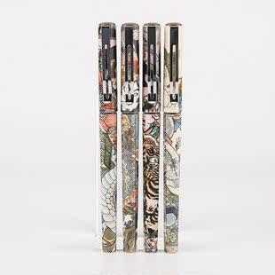 晨光文具 速干中性笔 大英博物馆官方授权 水浒豪杰系列 速干水性签字笔 学生水 0.5mm黑ARP57507 包邮
