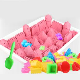 10斤太空玩具沙子套装魔力橡皮泥彩色粘土儿童安全无毒男女孩散沙