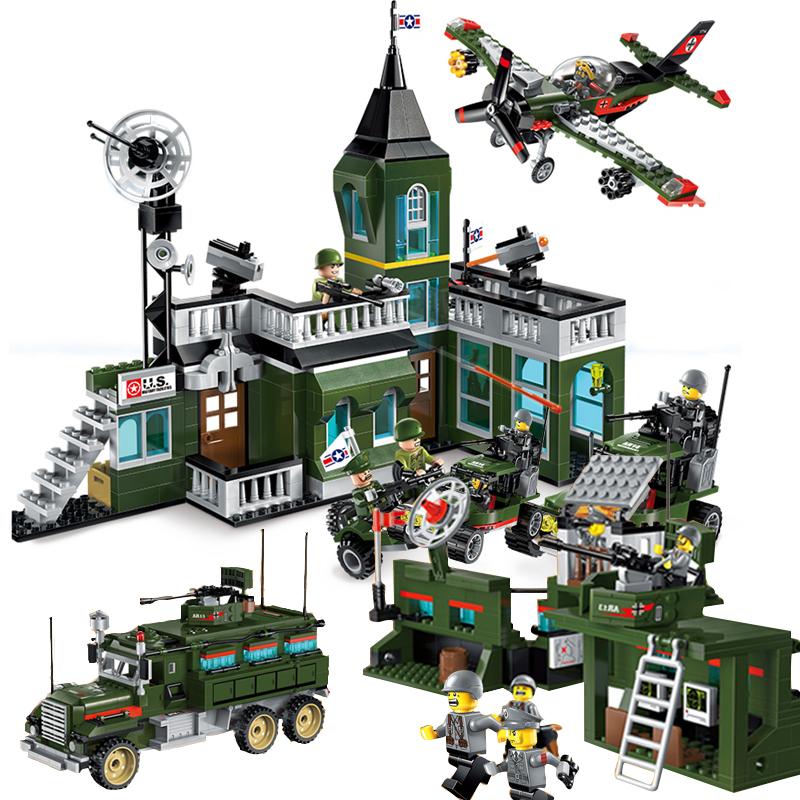 组装玩具男孩益智可拆卸拼装机木男童玩具5-7岁开发智力启蒙积木