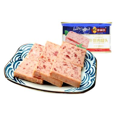 林家铺子 午餐肉 200g*3罐