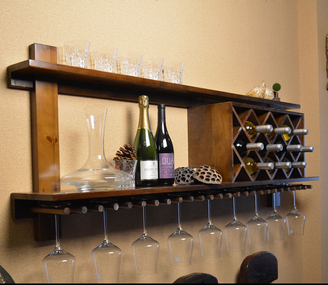 Подставка для вина Yuan Lin Shi wood