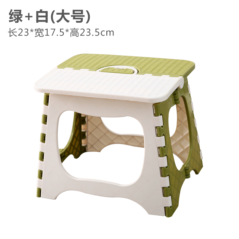 Choose a stacked stool ponies stool portable folding simple outdoor thickened household plastic train children's stool light outdoor