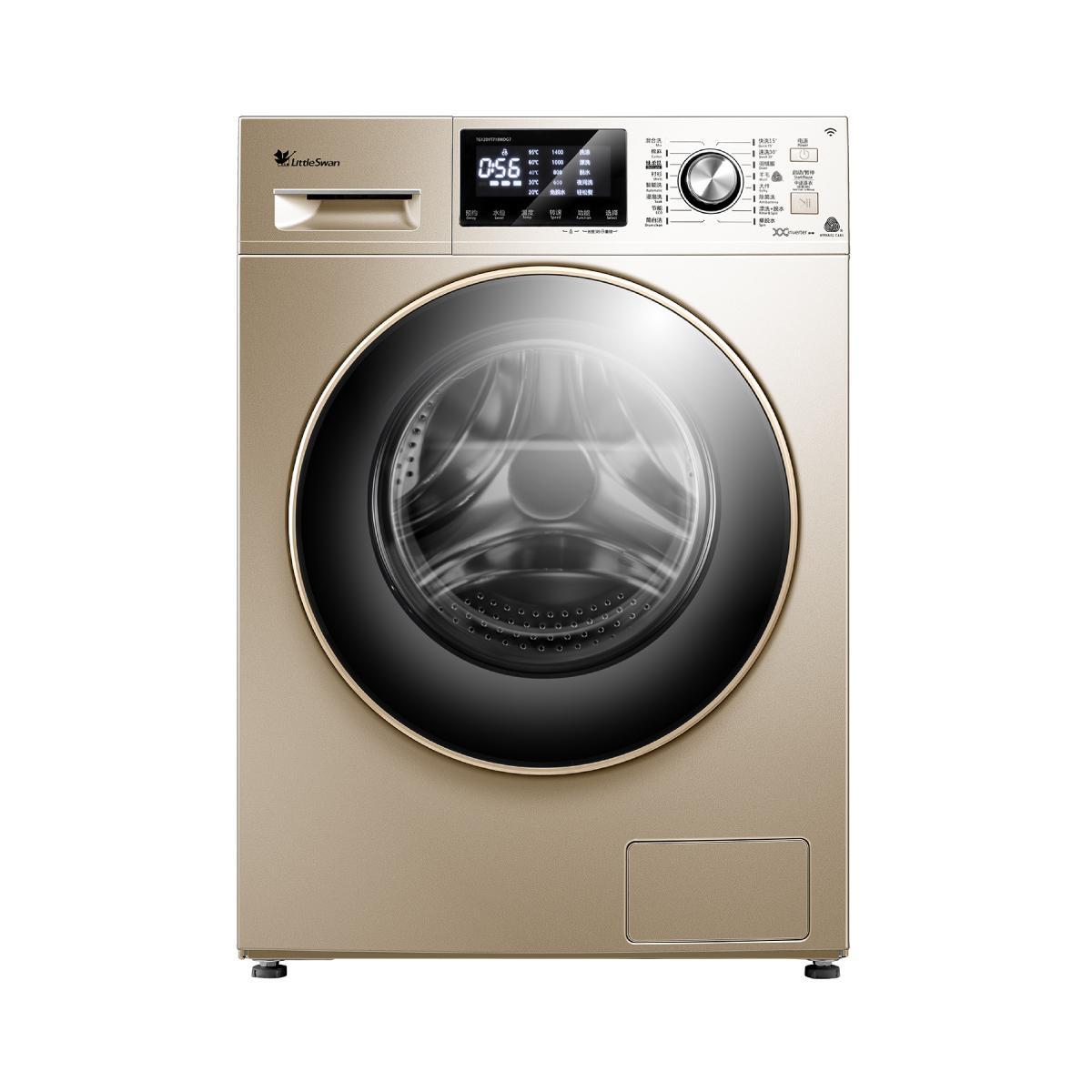 小天鹅12公斤kg全自动变频智能静音滚筒家用洗衣机