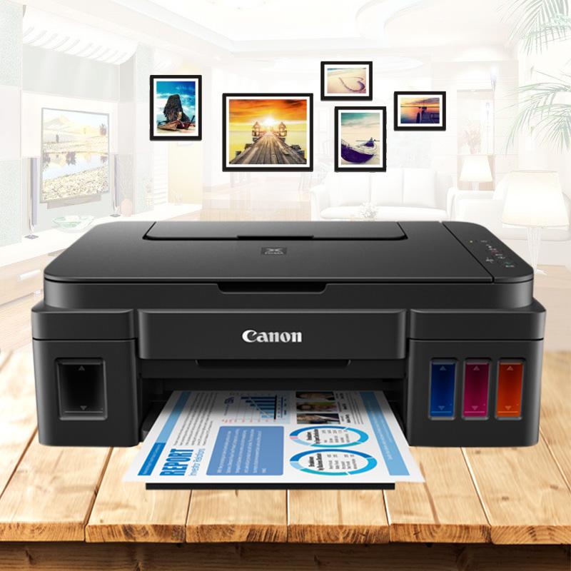 佳能G3800无线wifi原装墨仓式连供打印机复印一体机手机家用彩色照片办公文档扫描小型一体式学生高容量