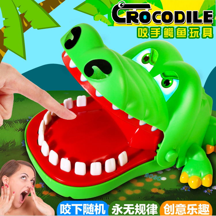 Biting Finger Crocodile