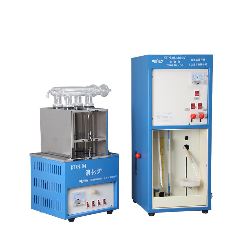 力辰科技凯氏定氮仪KDN-04A-04C-08A蛋白质测定仪(含消化炉)