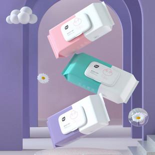 植护湿巾纸婴儿新生宝宝幼儿童手口屁专用家庭实惠大包装特价整箱