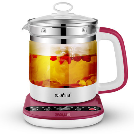 Automatic Healthy Potthickening glass multi-function electric teapot boiling water flower teapot