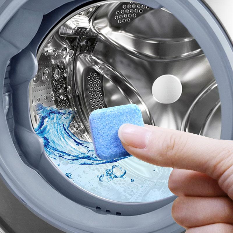 洗衣机槽清洗剂泡腾片家用滚筒式全自动杀菌消毒清洁片去污渍神器