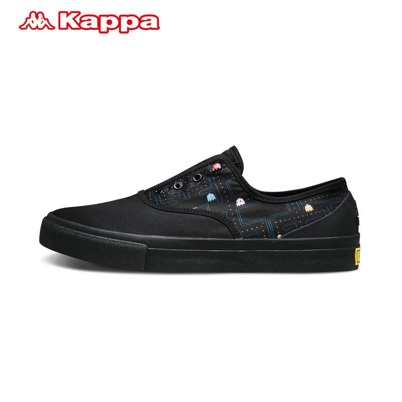 Kappa情侣男女款板鞋 吃豆人PACMAN休闲鞋 运动鞋 平底鞋背靠背