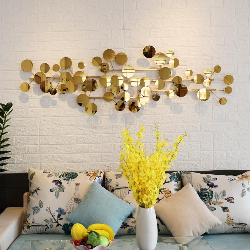家装饰品金属壁饰墙饰客厅沙发背景墙上装饰创意餐厅墙面装饰挂件