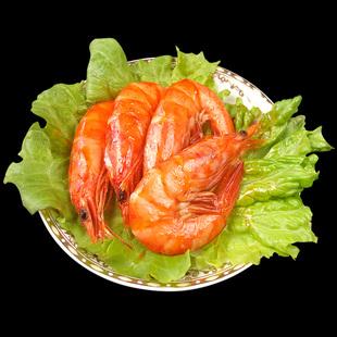 威海贝佳思海鲜水产食品120g麻辣大虾香辣虾即食海味零食