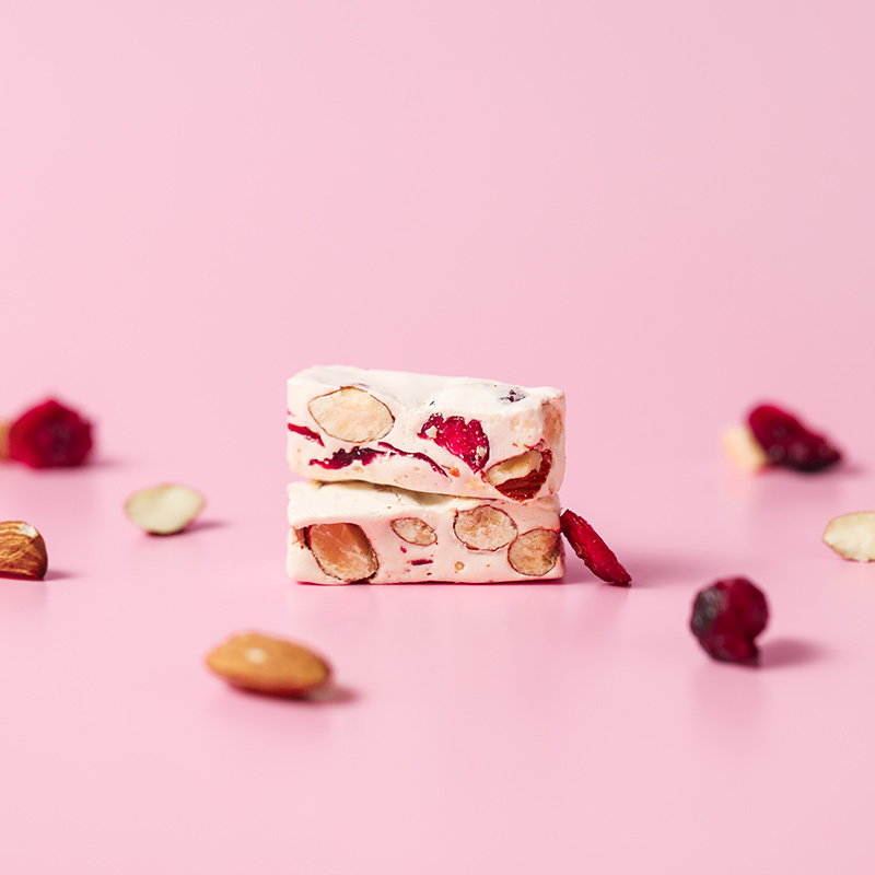 苏小糖手工牛轧糖爱系列花生奶糖巴旦木牛轧糖零食点心送女友礼盒