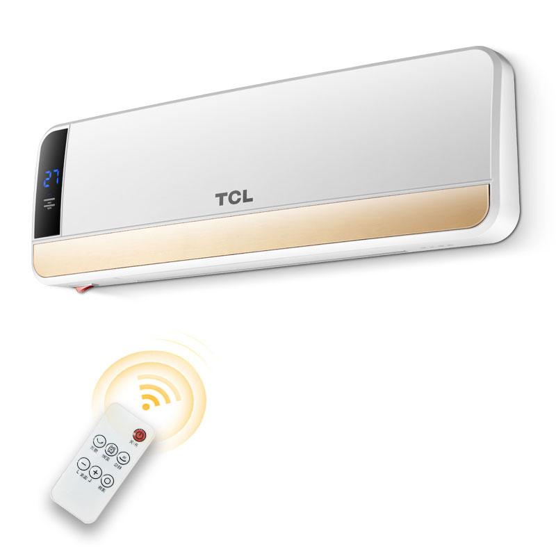 TCL取暖器家用壁挂暖风机浴室遥控居浴两用电暖气防水节能暖器