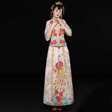 Cheongsam dress Shes leaning Ko qyg/0935