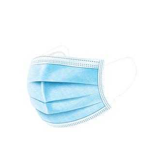 现货7天发】三层防护一次性口罩无纺布透气防尘熔喷布成人口罩