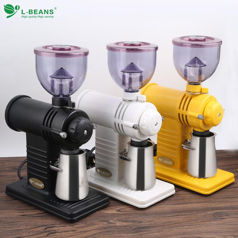 L-BEANS电动磨豆机 鬼齿小钢炮磨豆机意式单品磨豆机研磨机咖啡机