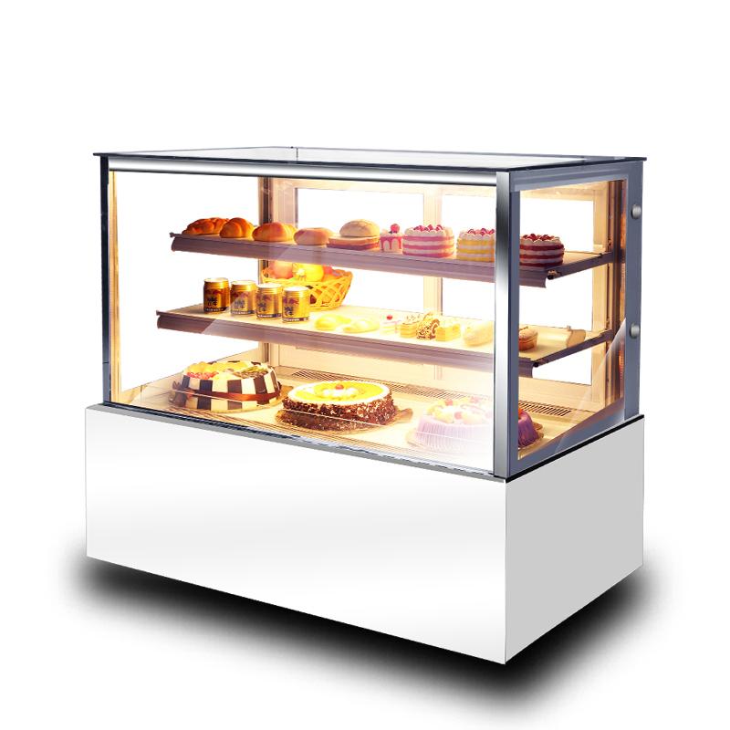 诺唯斯直角蛋糕柜商用展示柜冷藏熟食寿司甜品慕斯风冷水果保鲜柜