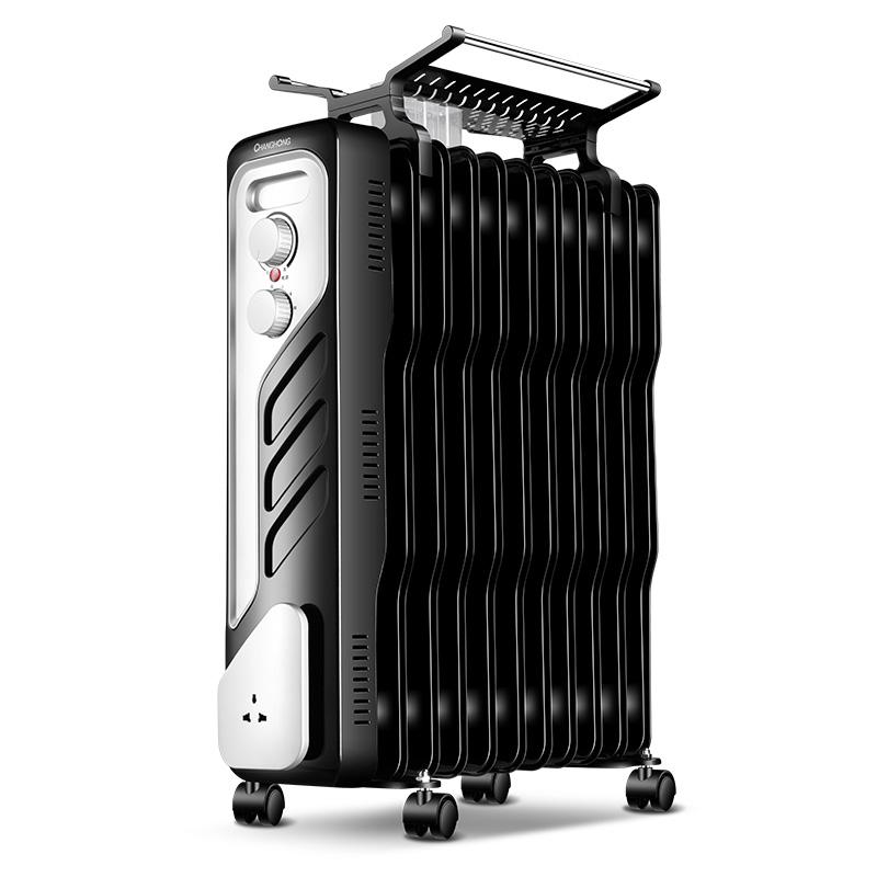 长虹电暖器电热油汀省电静音电暖气片油丁取暖器家用电暖风机