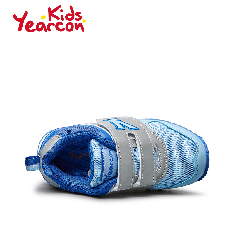 意尔康童鞋 2016秋季防滑运动鞋男童女童休闲鞋小童透气宝宝鞋产品展示图3