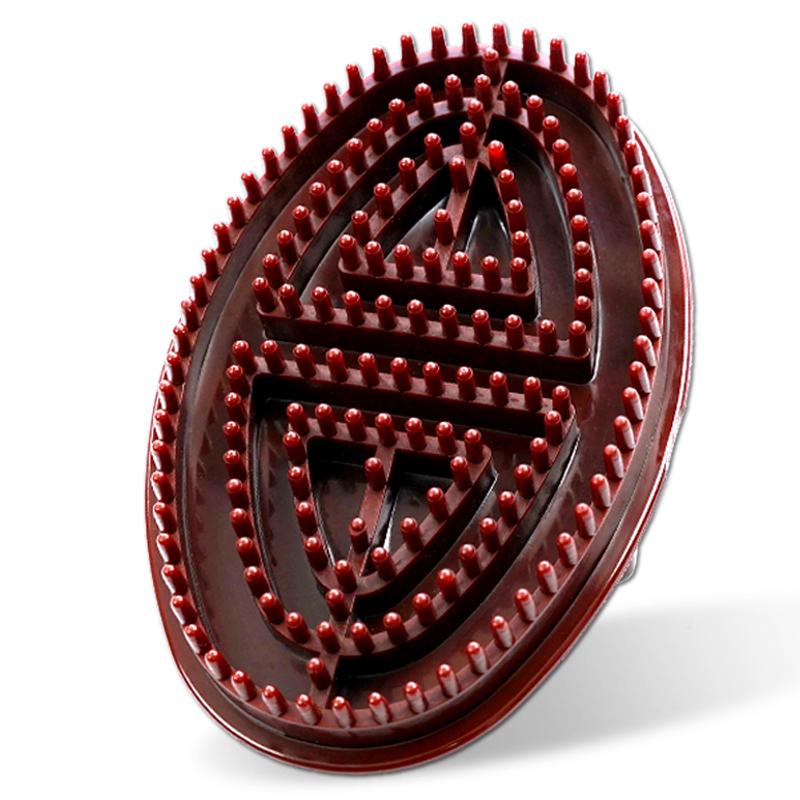 经络刷美容院专用按摩刷软硅胶瘦腿摩羯五行全身通用刮痧仪器神器