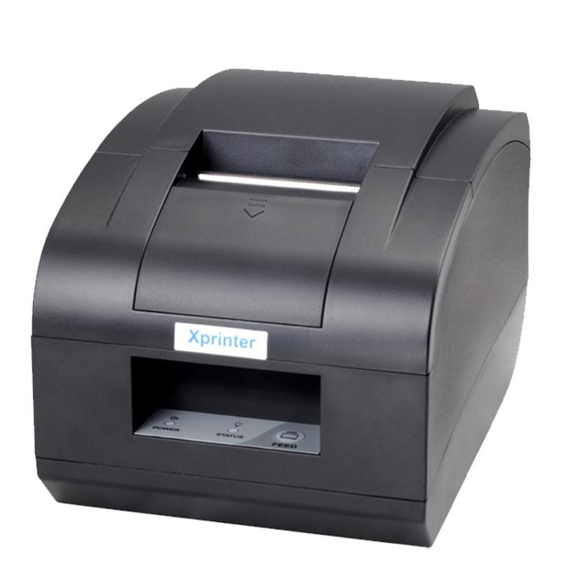 芯烨XP-T58NC热敏打印机pos58MM带切刀打印机超市收银厨房打印机网口美团小票据XP-Q90EC
