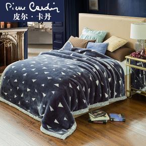 冬季双层拉舍尔小毛毯法兰绒被子珊瑚绒床单毯子女加厚午睡毯保暖