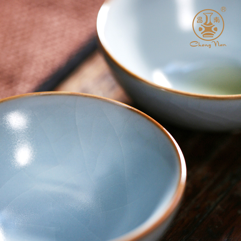 Chang south your up can keep on floating life fate ceramic kung fu tea set undressed ore glaze porcelain tea tea cup
