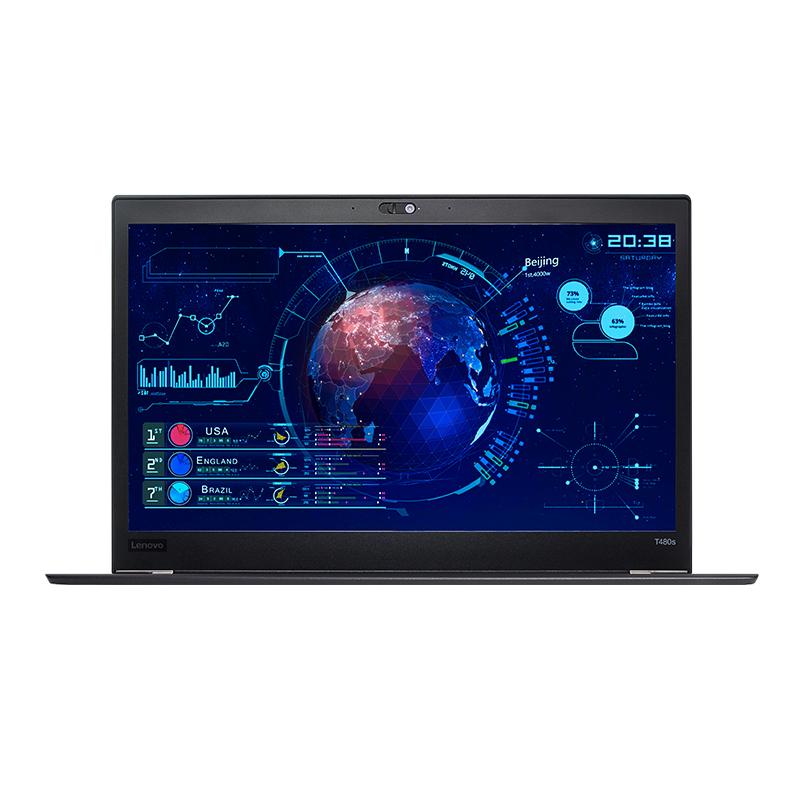 ThinkPad T480S 20L7002XCD 轻薄便携商务办公独显笔记本电脑联想