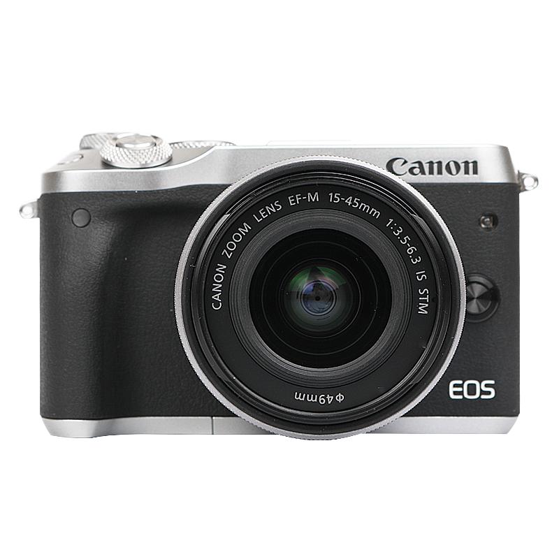 Canon-佳能M6微单相机 15-45套机eos m6入门级微单反数码高清旅游